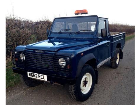 land rover pickup for sale 2000 w land rover defender 110 hi cap pick up td5 only