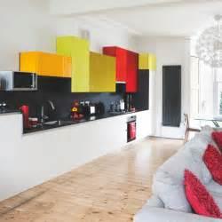 colourful kitchens striking modern kitchen housetohome co uk