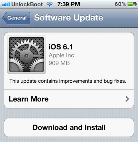 jailbreak download and ios software download download ios 6 1 official for iphone ipad and ipod touch