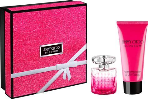 Jimmy Choo Blossom For Edp 100ml jimmy choo blossom gift set 100ml edp 100ml lotion 100ml shower gel solippy