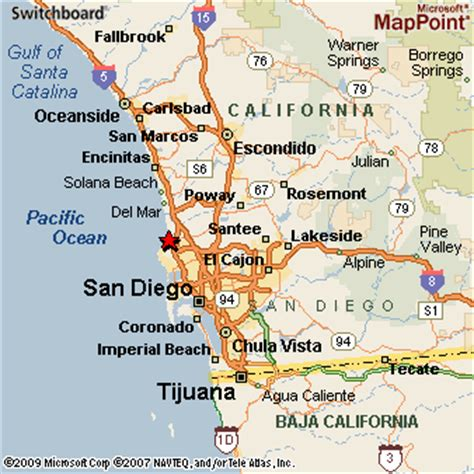 california map la jolla la jolla san diego nbhd california