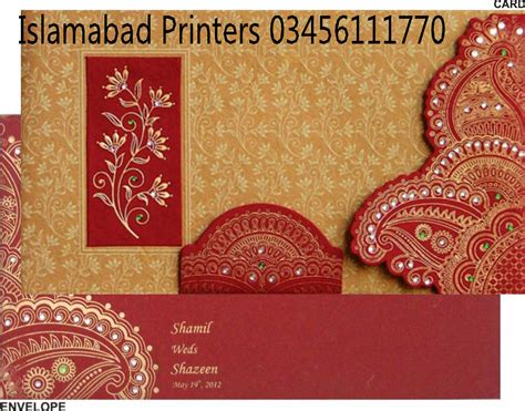 Wedding Card Shop by Wedding Cards Shop In Islamabad Islamabad Printers