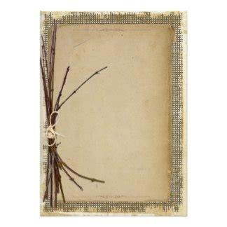 Blank Rustic Wedding Invitation Templates Cortezcolorado Net Rustic Card Template