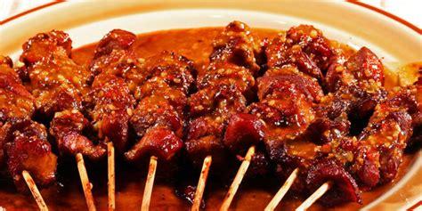 Makanan Enak Sate Kambing sate kambing bumbu kecap vemale