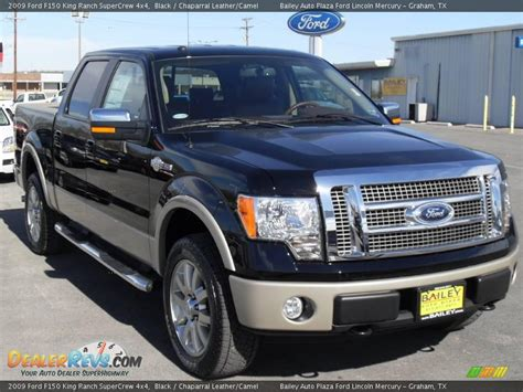 2009 ford f150 king ranch 2009 ford f150 king ranch supercrew 4x4 black chaparral