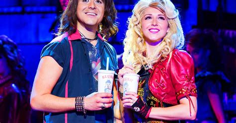rock of ages sherrie hairstyle review rock of ages at his majesty s theatre aberdeen