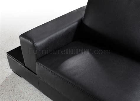 u shaped sectional sofa with ottoman black leather modern u shape sectional sofa w ottoman