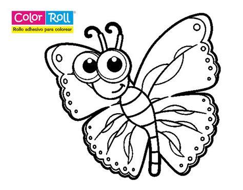 dibujo de mariposa pintar im genes dibujos infantiles de mariposas para colorear mariposa