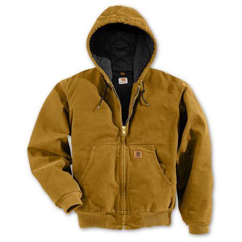 Jaket Reg regular carhartt quilted flannel lined sandstone active jacket 108337 insulated jackets