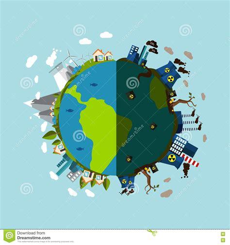 cartel de contaminacion cartel de la contaminaci 243 n ambiental ilustraci 243 n del