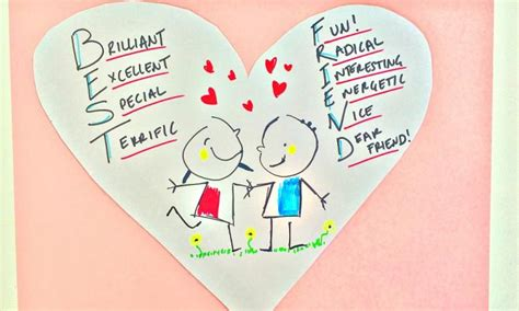 things to do on valentines day with friends s day best friend poem kidspot