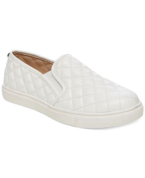 steve madden s ecentric q platform sneakers in white lyst