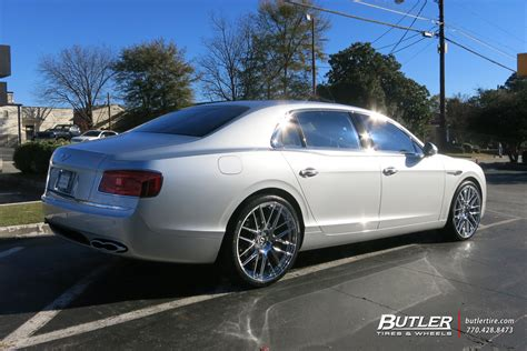 bentley flying spur custom bentley flying spur custom wheels lexani css8 22x et