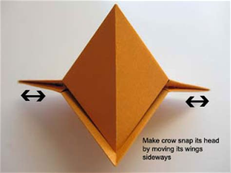 How To Make Paper Snapper - origami origami snapping