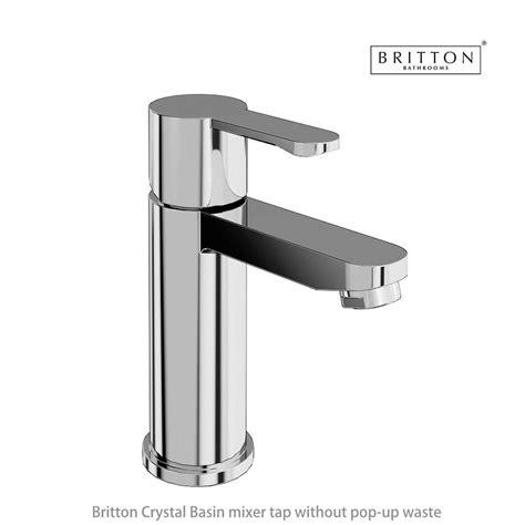 crystal bathroom taps britton crystal basin mixer tap uk bathrooms