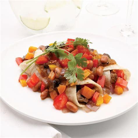 vegetables w potassium roasted vegetable enchiladas recipe eatingwell
