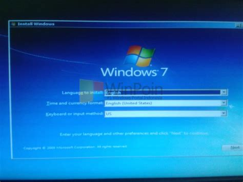 tutorial instal windows 7 gambar tutorial lengkap cara install windows 7 dengan flashdisk