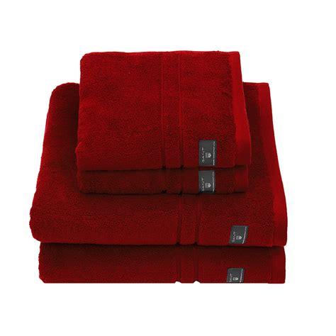 bathroom towels buy gant premium terry towel dark red bath towel amara