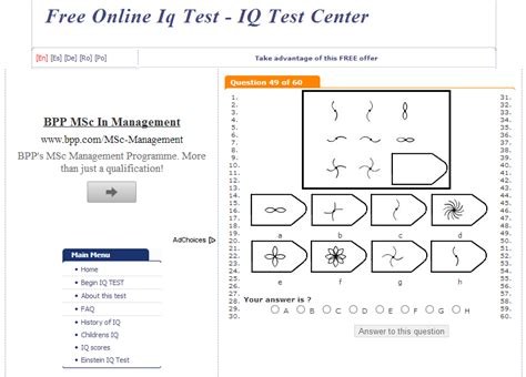 printable iq test free sle iq test for 1st graders cogat test nyc gifted and