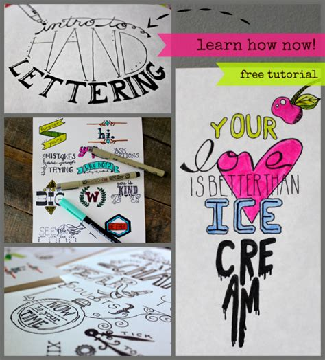 hand lettering tutorial for beginners intro to hand lettering made by marzipan