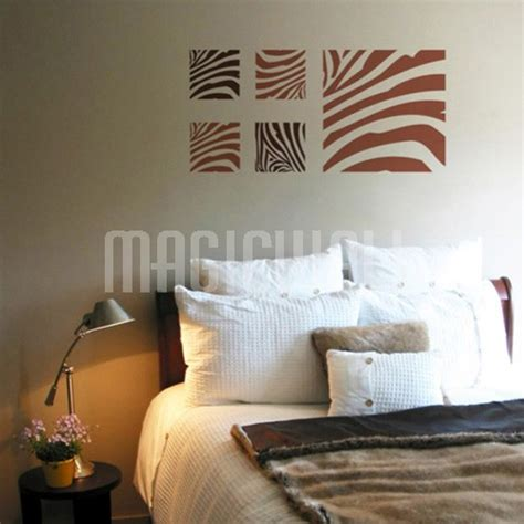 pattern wall decals canada wall decals canada square zebra pattern wall stickers