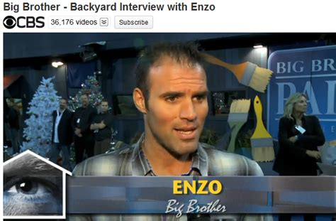 cbs big brother backyard interviews big brother usa live feed updates cbs interview with enzo