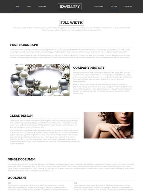 html templates for jewellery website wedding jewelry web template jewelry website templates