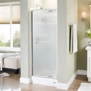 pivot shower door home depot delta panache 31 1 2 in x 66 in pivot shower door in