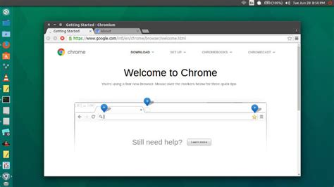 chrome ubuntu install chromium google chrome open source browser in