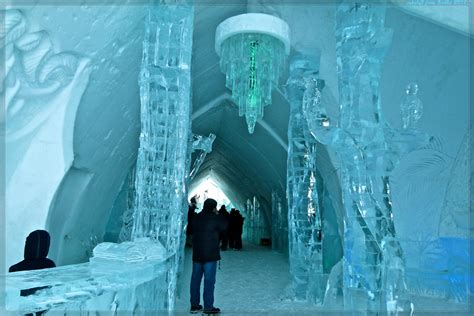 hotel de glace canada travel spotting ice h 244 tel de glace in quebec canada