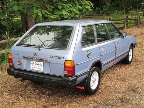 classic subaru wagon classic cars of the 1980 s 1984 subaru gl 4wd