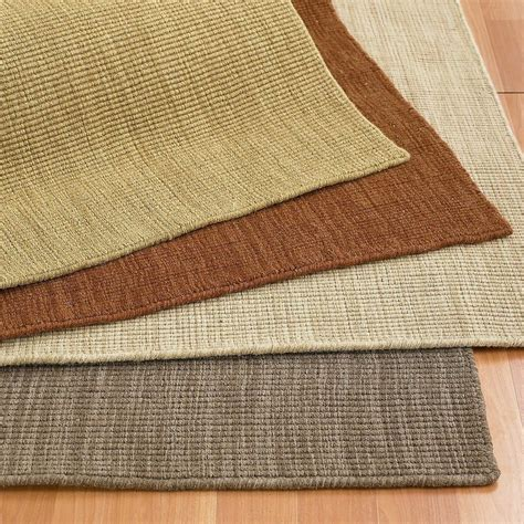 sisal wool blend rugs wool blend sisal texture rug rug comfort grip the company store