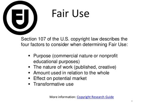 section 107 copyright copyright author rights creative commons