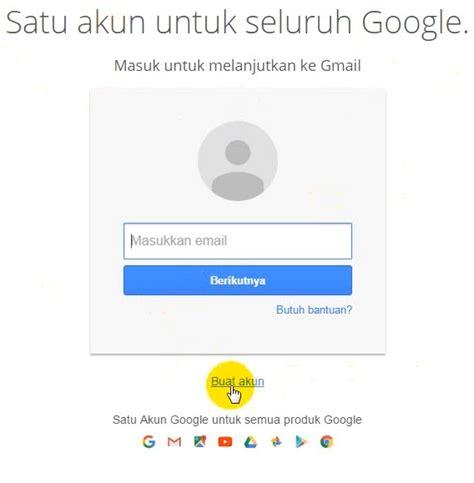 buat akun google baru gmail cara membuat akun email google gmail terbaru bang