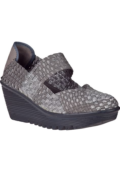 grey sneaker wedges bernie mev lulia wedge sneaker light grey fabric in gray