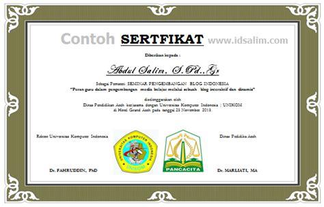 format buku besar pkh cara membuat sertifikat dalam jumlah banyak idsalim com