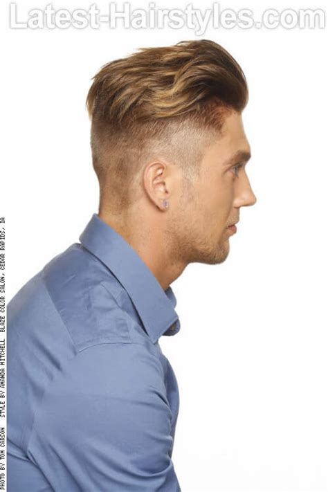 hairstyles to the side for guys 26 easy men s short hairstyles for work and play