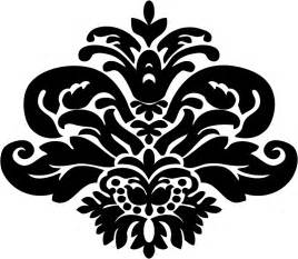 Paisley Wall Decals Stencil Pattern Clipart Best