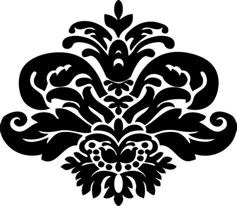 Printable Damask Stencils | stencil damask pattern clipart best