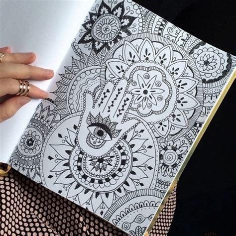 draw pattern en español beautiful cool draw drawing eye image 3615301 by