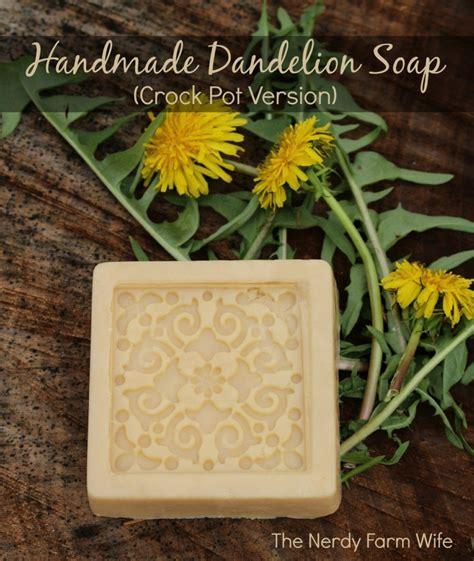 Most Popular Handmade Soap - handmade dandelion soap crock pot method the nerdy