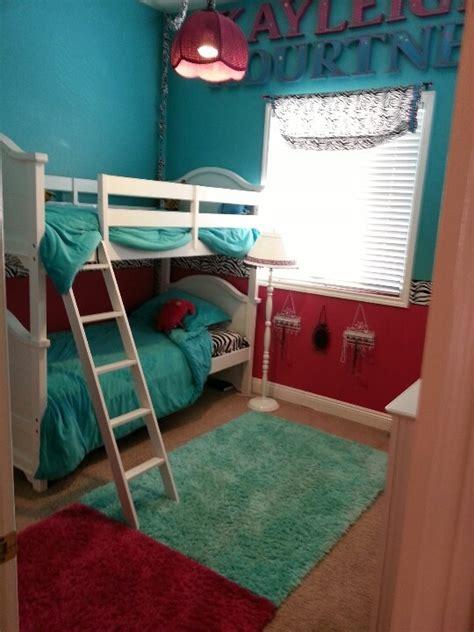 light aqua bedroom bunk beds zebra hot pink light aqua almost tiffany