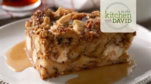 how to make apple cinnamon roll bread pudding youtube