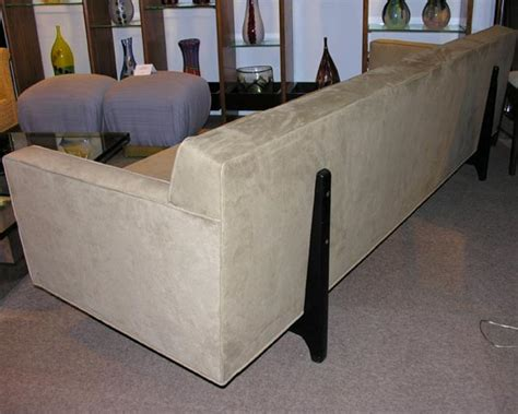 sofa with no back sofa no 133 with back struts designed by edward wormley