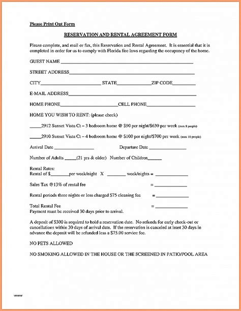 printable lease agreement quebec lease agreement unique tenants lease agreements templates