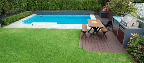 swimming pool in backyard inground pool in small backyard pool design ideas