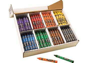 Kotak Crayon Set Isi 54 Pcs crayons