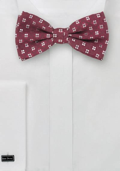 wine colored bow tie wine bow tie pocket square