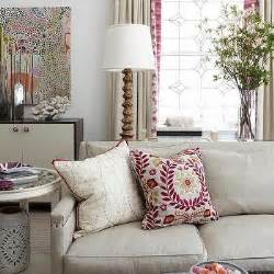 Beige And Pink Curtains Decorating Beige Sofa Design Ideas