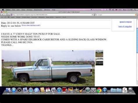 craigslist texas  cars  sale  owner youtube